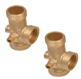 Brass Tees Elbows